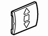 legrand 771065 abdeckung f r jalousie rolladenschalter. Black Bedroom Furniture Sets. Home Design Ideas