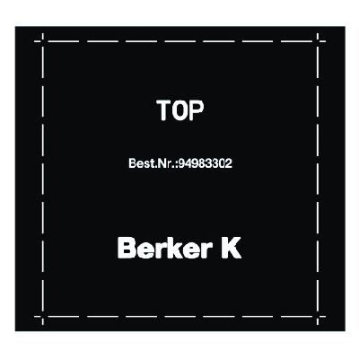 BERKER 94983330 Klebefolie für Funk-Wandsender und Funk-Wächter flach