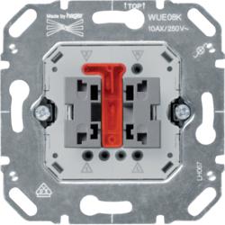 HAGER WUE08K Wippkontrollschalter-Einsat