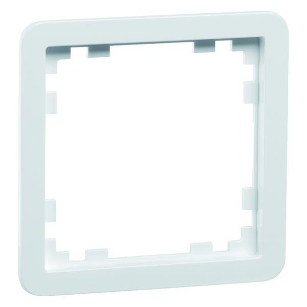 PEHA D 80.670/55.02 Zwischenrahmen, reinweiß Durchbruch 55 x 55 mm 00219611