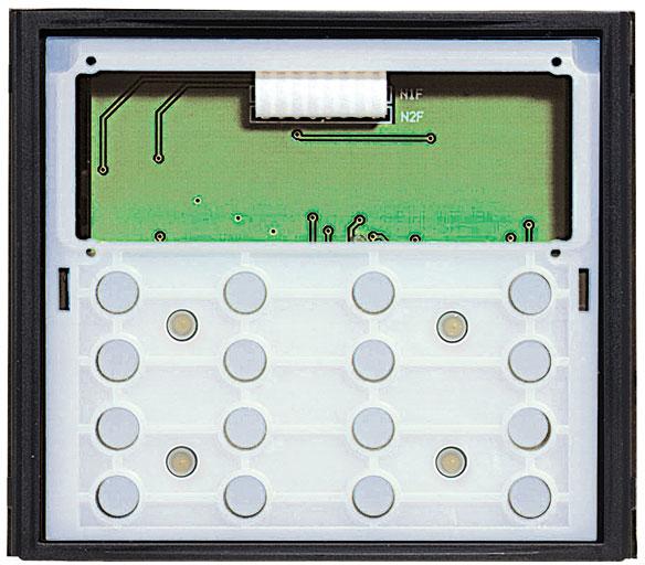LEGRAND Bticino 342640 beleuchtete Zehnertastatur-Modul