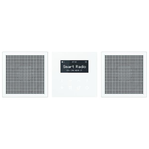 jung radls928ww smart radio mit display set stereo. Black Bedroom Furniture Sets. Home Design Ideas