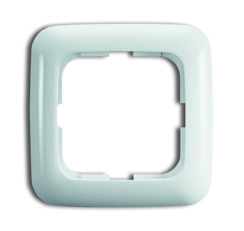 busch jaeger reflex si 2511 214 rahmen 1fach 1 fach online kaufen im voltus elektro shop. Black Bedroom Furniture Sets. Home Design Ideas