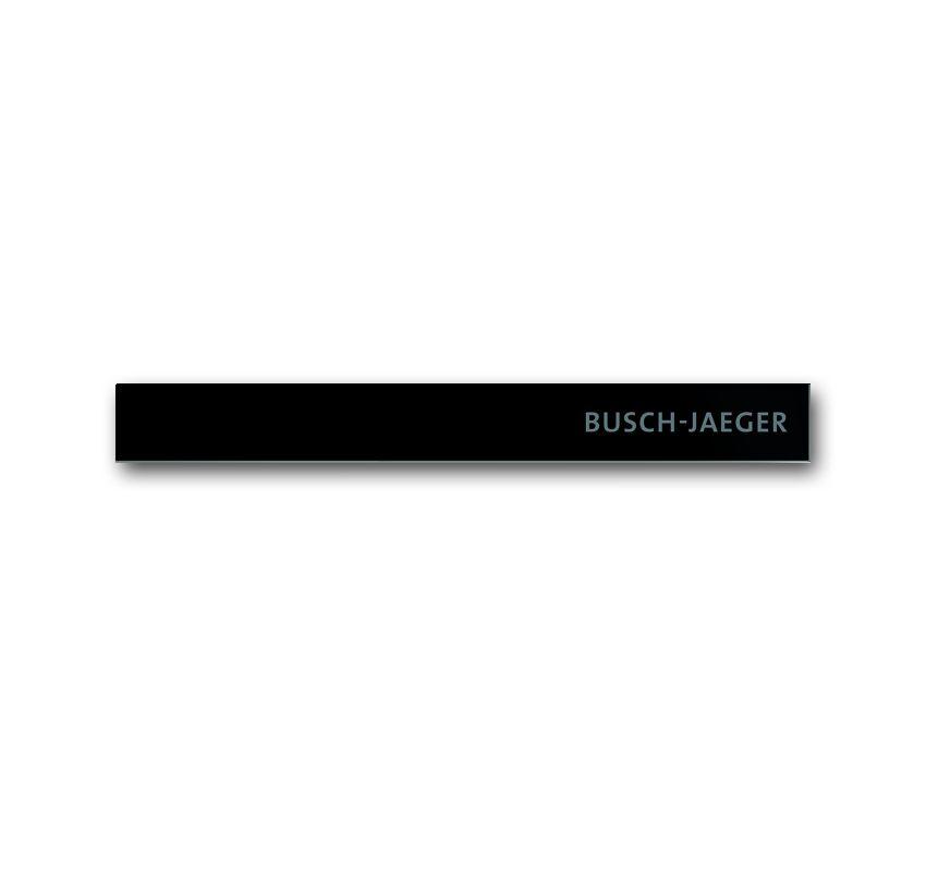 busch jaeger 6352 825 101 abschlussleiste unten glas schwarz online kaufen im voltus elektro shop. Black Bedroom Furniture Sets. Home Design Ideas